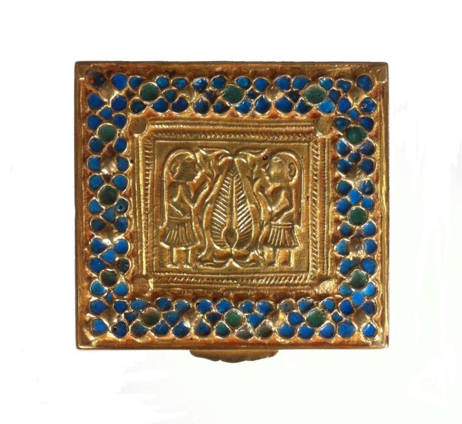 Line Vautrin Adam & Eve Trinket Box