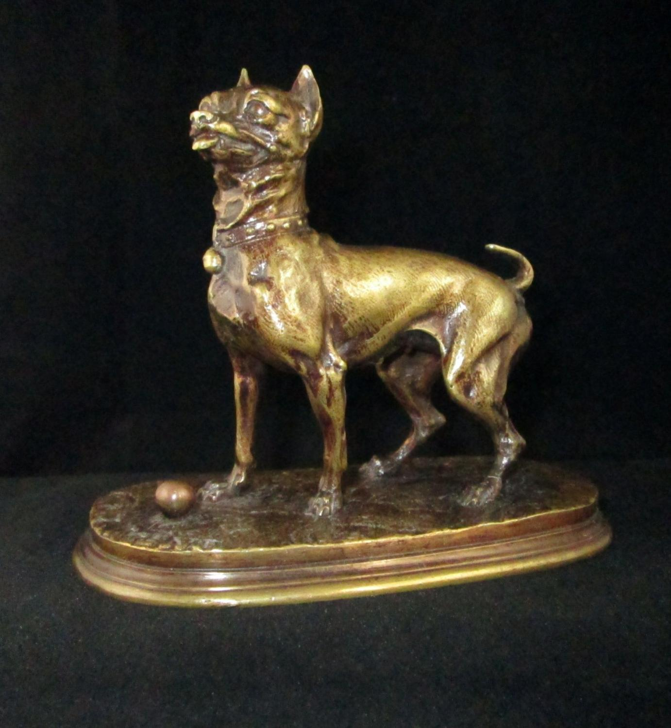 Pierre Jules Mene Bronze Dog
