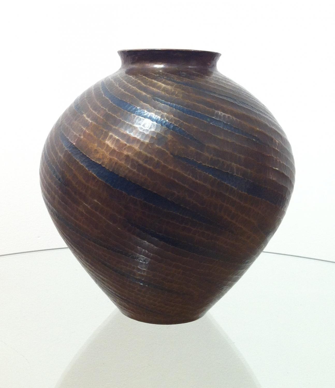 Japanese Gyokusendo Bronze Vase