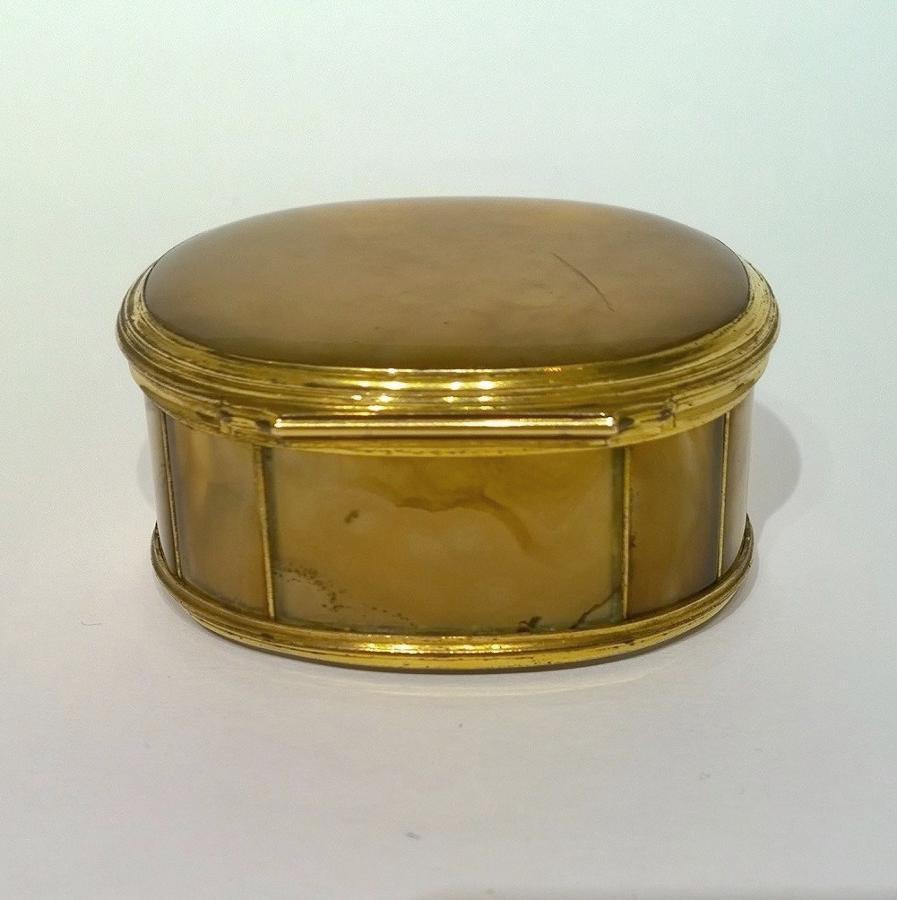 Specimen Agate Snuff Box c.1750