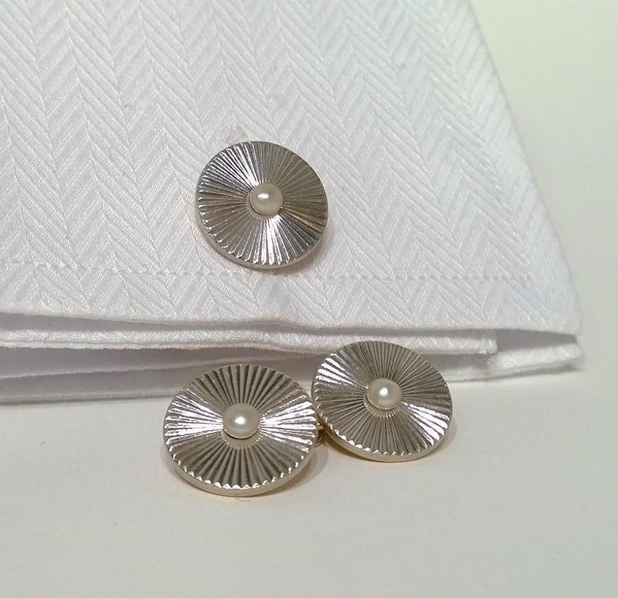 Platinum and Pearl Cufflinks c.1925