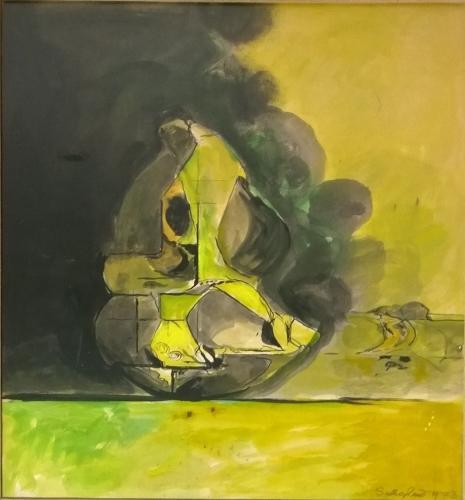Graham Sutherland (1903-1980) Rock Study II
