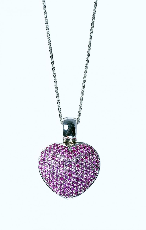 Pink Sapphire Heart