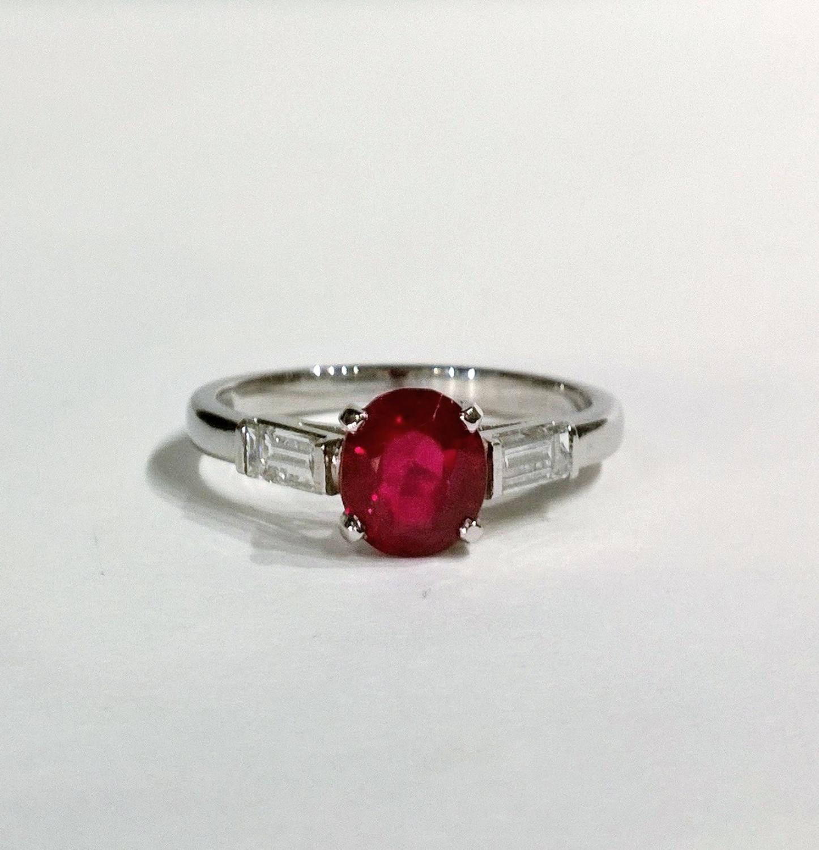 Burma Ruby Ring.