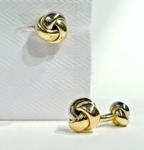 Cartier Trilogy Knot Cufflinks