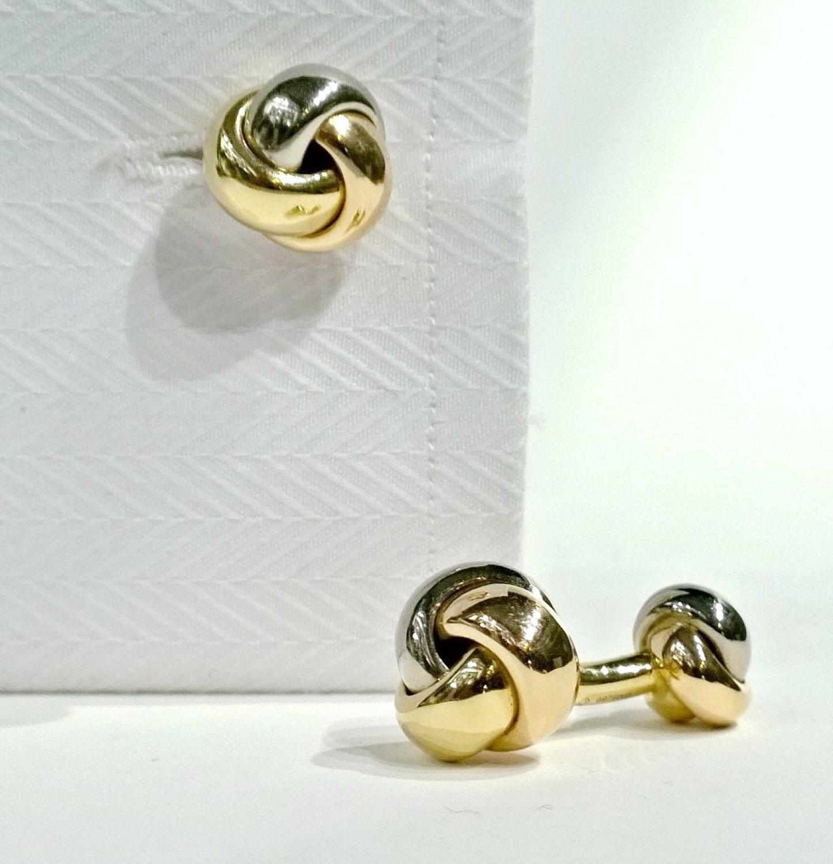 Cartier Trilogy Knot Cufflinks