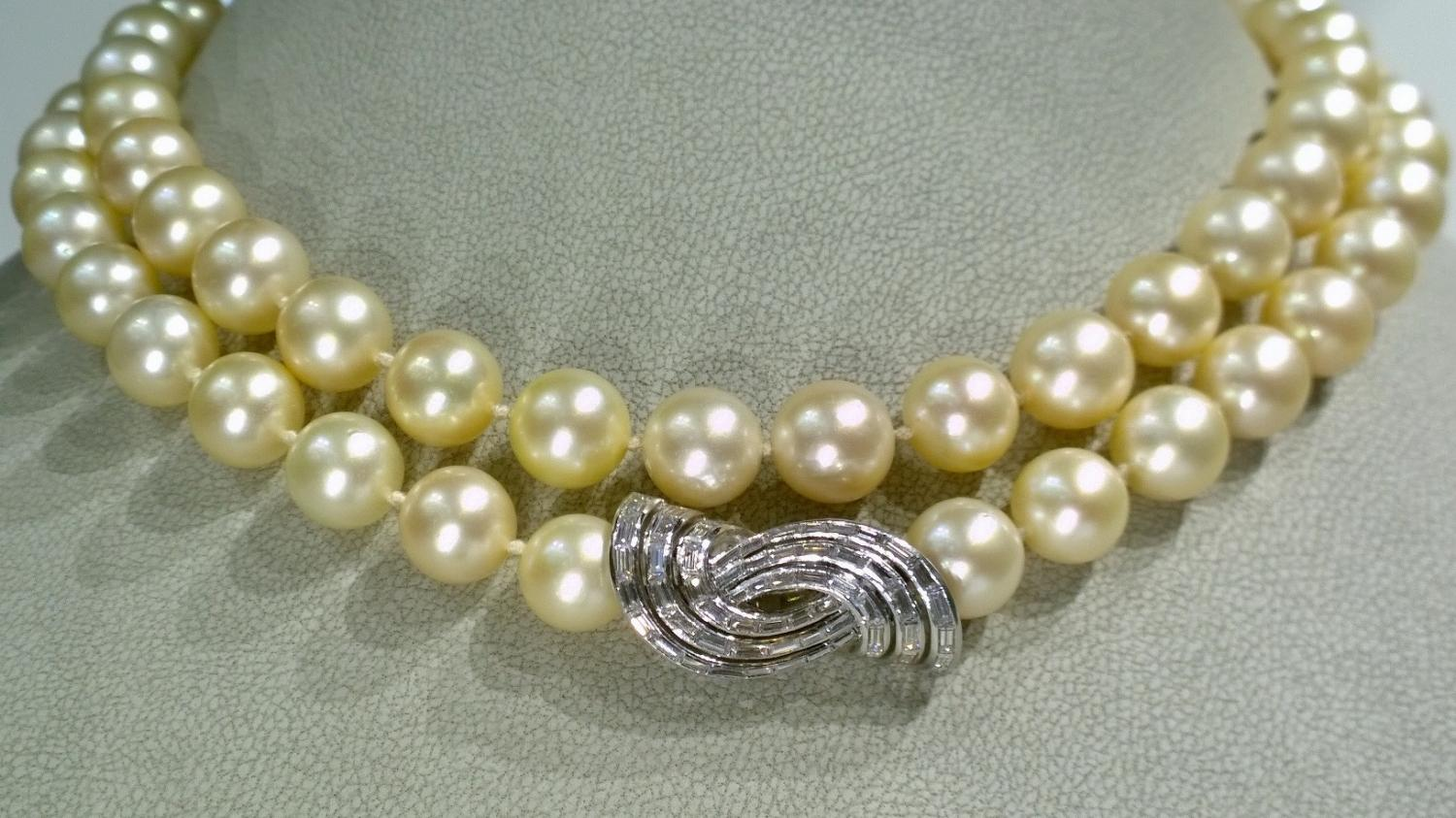 10mm Akoya Cultured Pearl Necklace