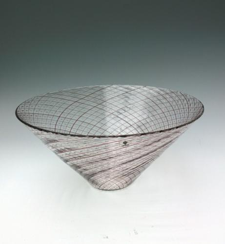 Venini Filigrane bowl