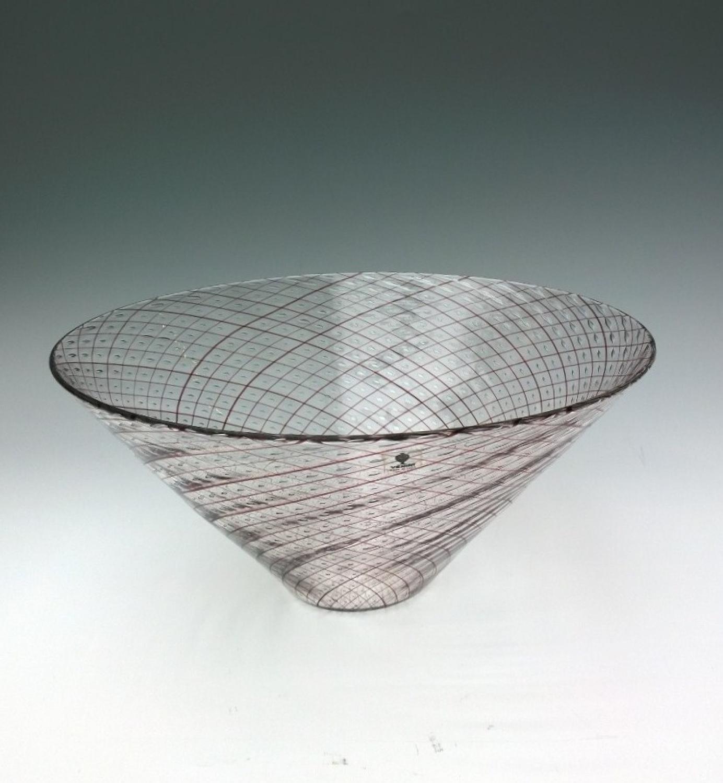 Venini Filigrane bowl