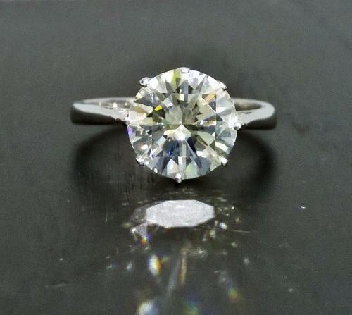 3.20 carat diamond ring