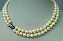 Art deco pearl necklace - picture 2