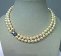 Art deco pearl necklace - picture 3