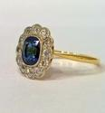 Sapphire and Diamond Ring - picture 2