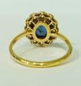 Sapphire and Diamond Ring - picture 3