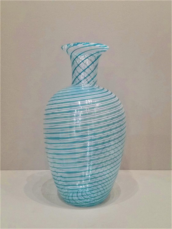 Venini mezza filigrana vase