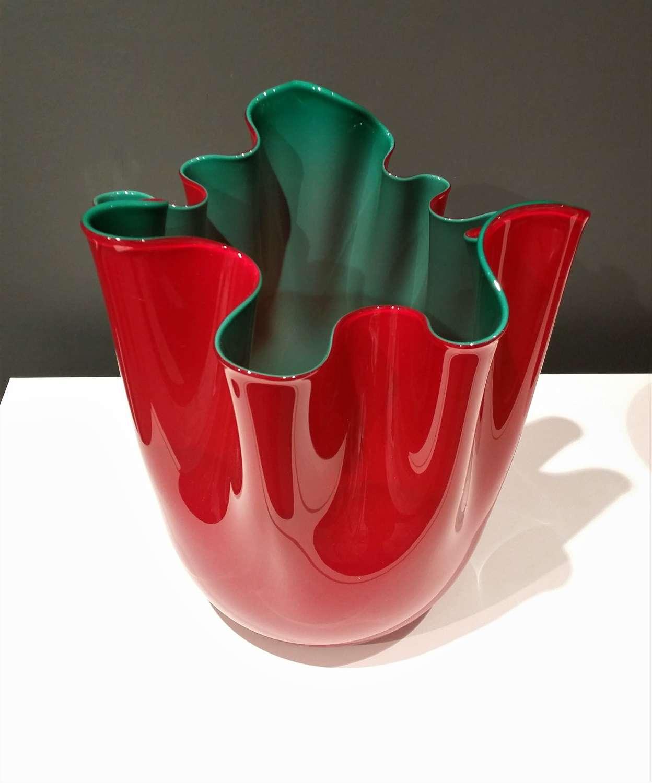 Venini fazzoletto vase