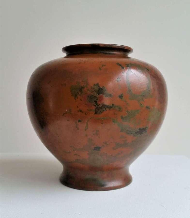 Japanese murashido bronze vase
